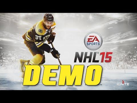 NHL 15 - Demo Free Skate (Xbox One Gameplay)