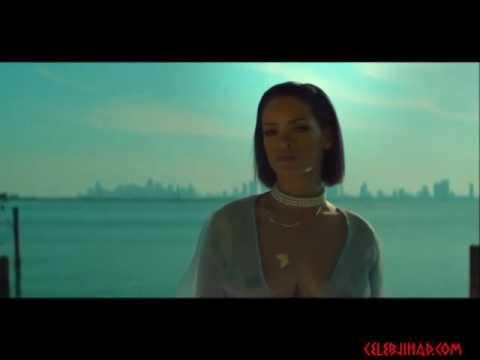 Rihannas Boobs In Needed Me Music Video