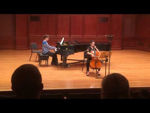 Sonata in B flat Major, Op. 43, No. 1 (Bernard Romberg, 1767-1841)