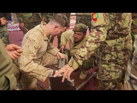 DFN:Afghans Graduate Mounted Heavy Machine Gun Course, Ready to Teach Their Soldiers, 02.28.2018