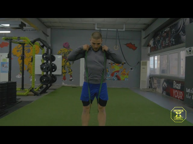 Тренировка с ластици - SPARTAN GYM WORKOUTS