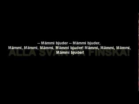 Mämmi Bjuder (Karaoke) [Mange Bjuder Parody] *Watch in HD*