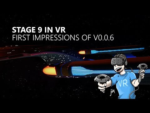 Taking a stroll on board the Enterprise D - Impressions of Stage 9 VR