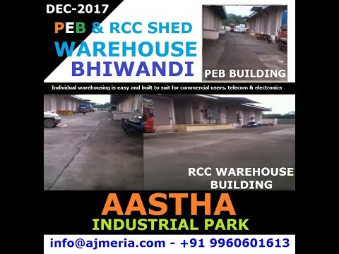 RCC warehouse and PEB Warehouse is best option for pharmaceutical companies or CFA, CNF