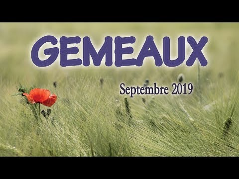 GEMEAUX Sept 2019 ~ Explorer la lignée familiale...