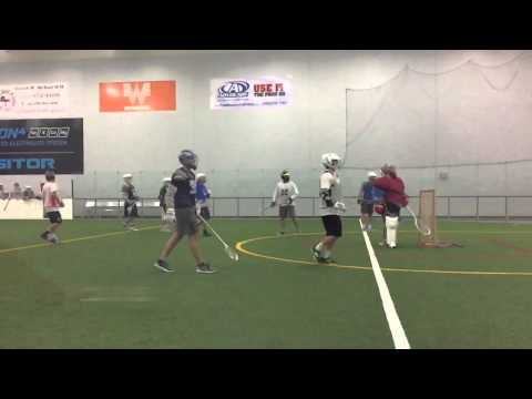 Dallas Box Lacrosse - shot save