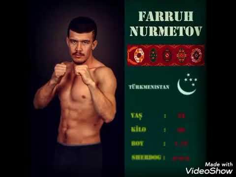 66.kgTürkmenistan VS İran Mma Farruh Nurmetov