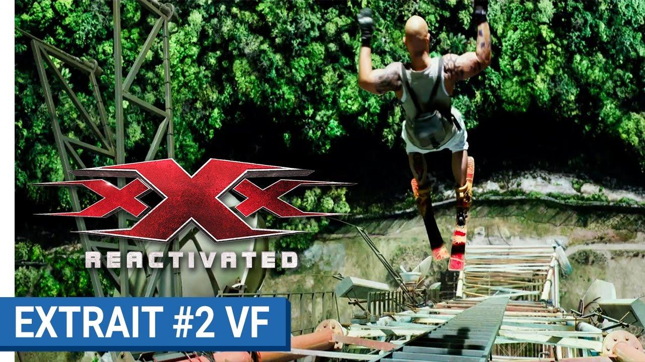 xXx REACTIVATED - Extrait #2 - Vin Diesel en hors-piste extrême (VF)