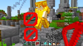 i secretly used creative mode in Minecraft Skywars..