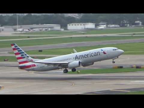 [HD] American Airlines 737-800 Takeoff From Tampa International Airport