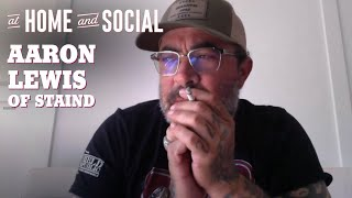 Aaron Lewis of Staind on New Music + Going Country | At Home And Social