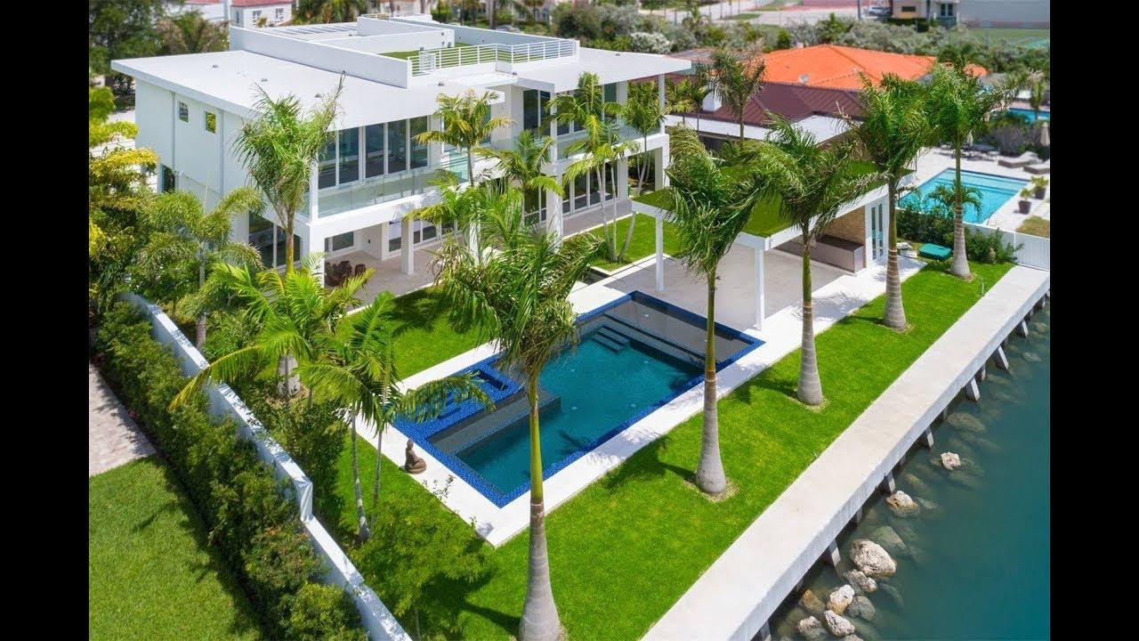 Mansion In Miami Beach Florida