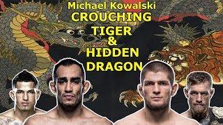 Breaking down UFC 229 Khabib's and Ferguson's Finishes.