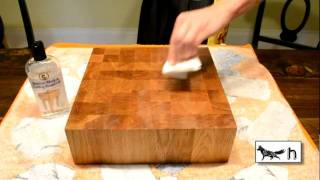 How To Oil Wood Cutting Board