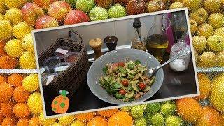 №13. Салат с тунцом и свежими овощами