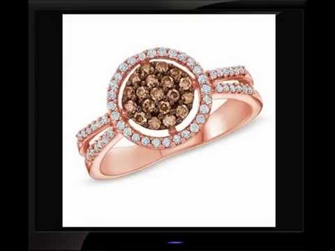 Best Promise Rings -Chocolate Diamond Rings