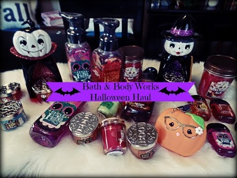 bath body works halloween haul candles pocket bac more youtube