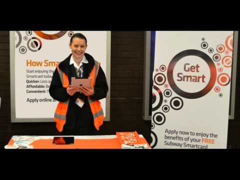 How to use the Glasgow Subways new smartcard.