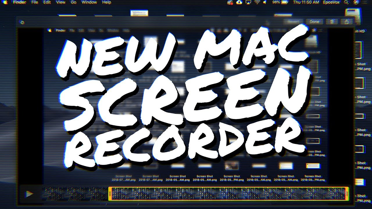 MacOS Mojave gets a GREAT Screen Recording Update! - How to make tutorials  for FREE on Mac