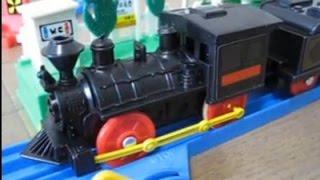 旧トミー プラレール 弁慶号 国鉄7100形蒸気機関車 (1998年復刻版)