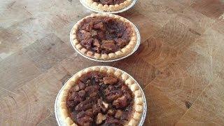 Mini Maple Pecan Pies Recipe (maple Pecan Tarts) - Quick Easter Dessert