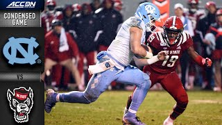North Carolina vs. NC State Condensed Game | ACC Football 2019-20