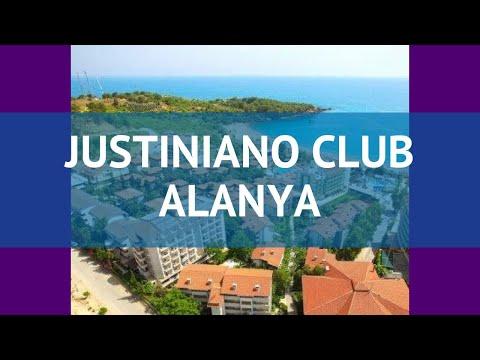 JUSTINIANO CLUB ALANYA 4* Турция Алания обзор – отель ДЖУСТИНИАНО КЛАБ АЛАНЬЯ 4* Алания видео обзор