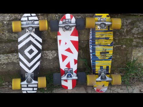 How to make a penny board out of a skateboard