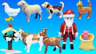 PLAYMOBIL Country Farm Animals Advent Calendar Building Set Build Review