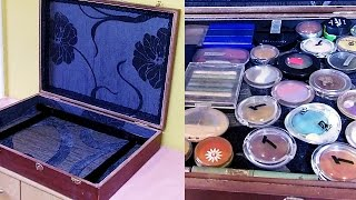 DIY make up storage & organization