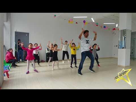Kids Dance Workshop in China (Jan 2018)