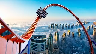 THE BIGGEST ROLLER COASTERS In The World