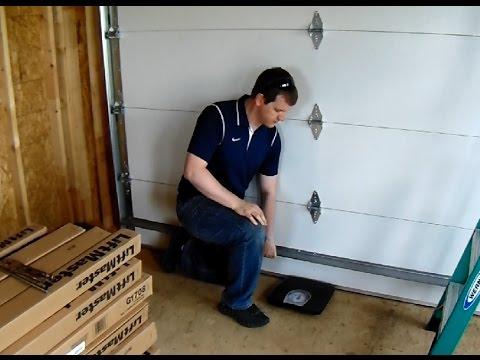 How To Weigh Your Garage Door