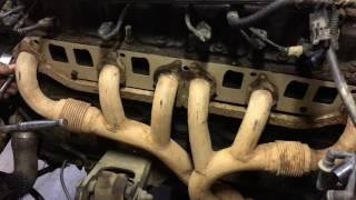 Jeep Cherokee 4.0L l6 Manifold Removal