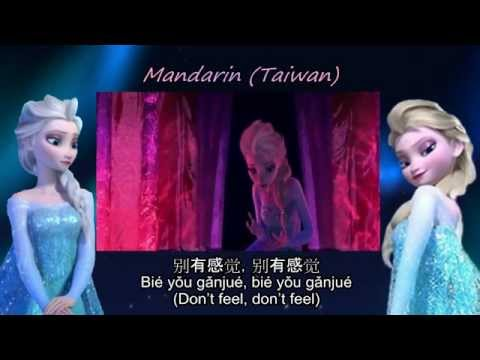 Frozen - Conceal, Don't Feel (One Line Multilanguage) (47 Versions) w/ Sub + Trans
