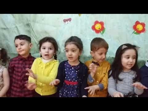 """""""Anacan"""" mahnısı uşaqların ifasinda. 305 saylı bağçada şənlik"""
