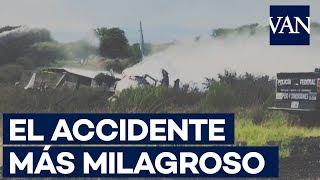 MILAGRO EN DURANGO: Se salvan todos los pasajeros de un ACCIDENTE DE AVIÓN