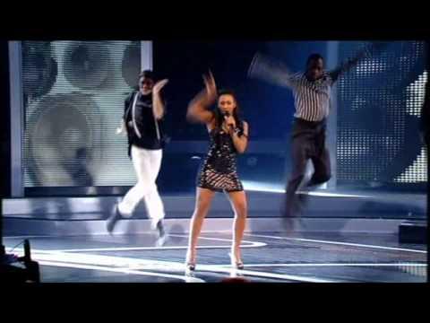 Xfactor semifinal 2008: Alexandra burke - Rihanna