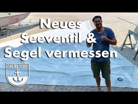Neues Seeventil & Segel Vermessen (#37)