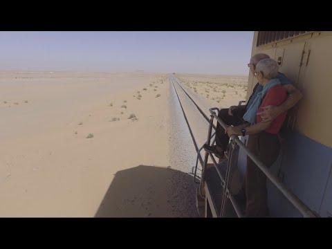 Tourists back on board Mauritania's desert train