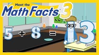 Meet the Math Facts Level 3 - 5+8=13