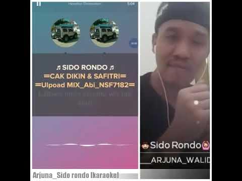 Arjuna_walid [karaoke Sido Rondo Original]
