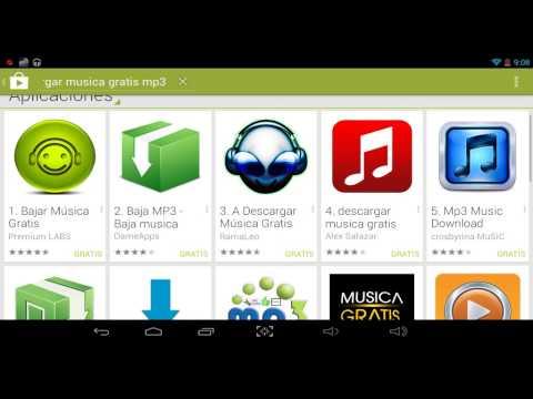 Como descargar musica desde tu android