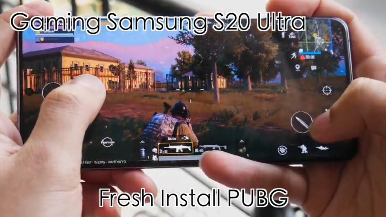 Samsung S20 Ultra Gaming Test | PUBG | Freefire | Call of Duty | Asphalt9 Max settings