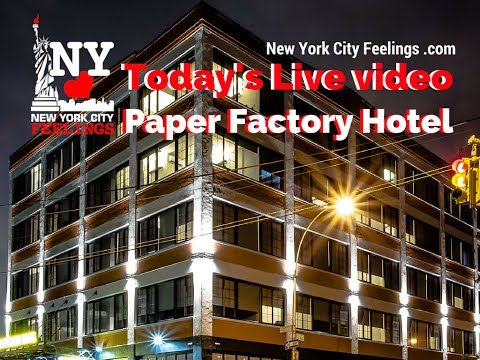 Party at Paper Factory Hotel, Long Island City
