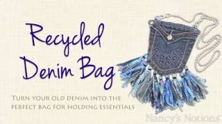 Upcycle Old Jeans: This DIY Crossbody Holds All Your Essentials