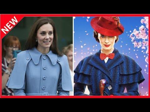 09eb2ad134c5fd Im Cape-Mantel: Herzogin Kate bezaubernd wie Mary Poppins - YouTube
