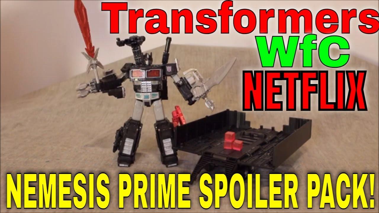 Let Darkness Reign! WFC Netflix Spoiler Nemesis Prime Pack Review by GotBot
