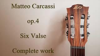 Matteo Carcassi - op.4 [Complete work]