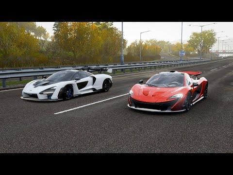 Download Forza Horizon 4 Mclaren Senna Stock Maxed Out Vs Bugatti
